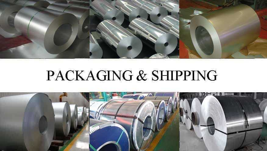Packaging and shipping of Hot sale aluminum coil roll with the cheap price