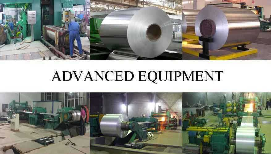 Advanced equipment of Hot sale decorative aluminum coil made in China