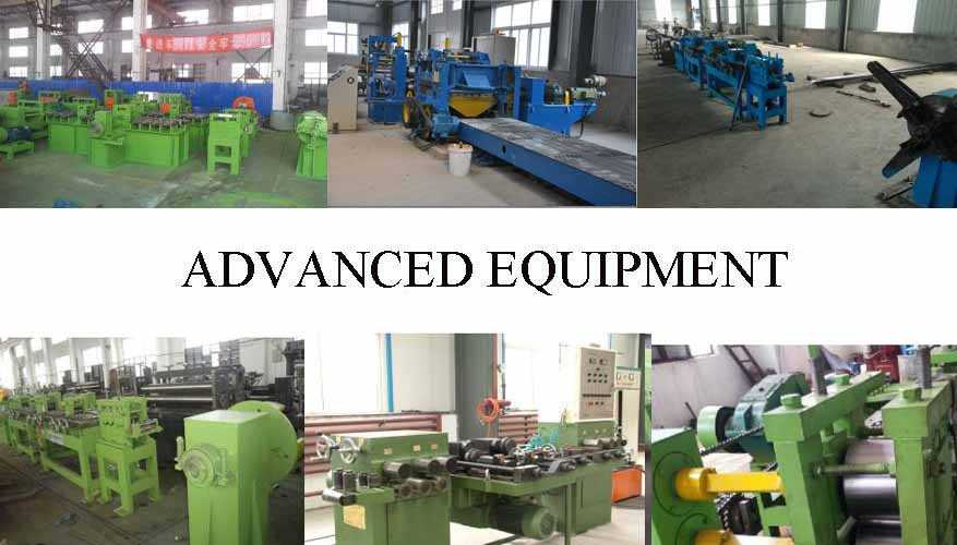 Equipment of high quality product