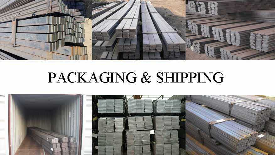 Packaging & Shipping of flat bar best price