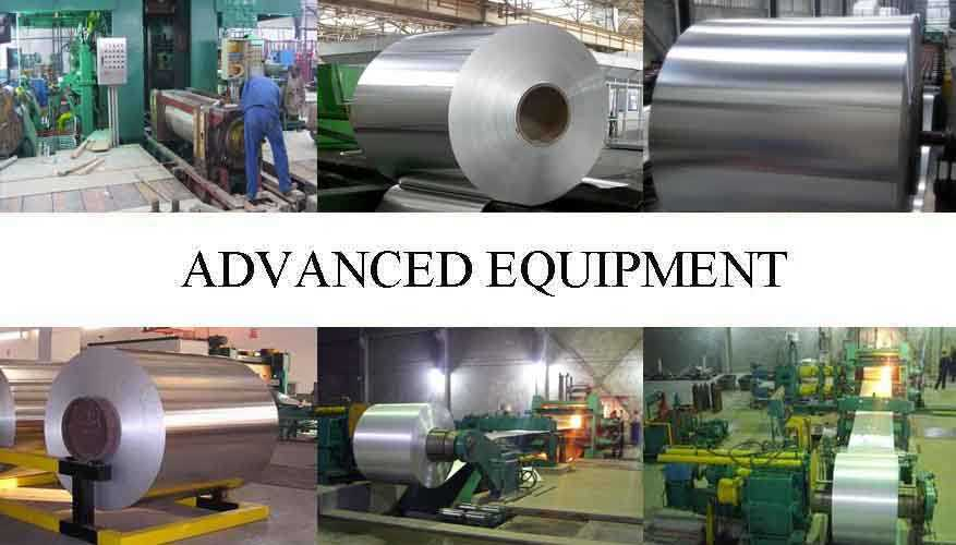 Advanced equipment of aluminum coil supplier in china