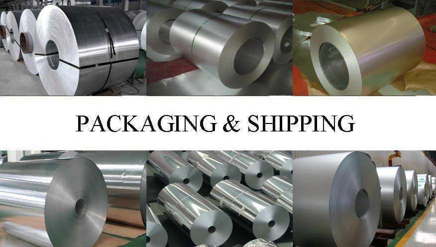 Packaging and shipping of aluminum coil supplier in china