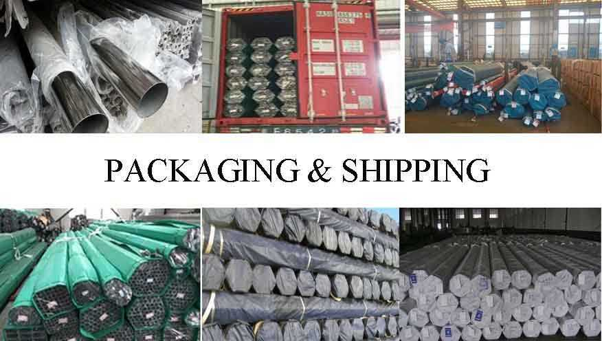 packing&shipping of manufacturer stainless steel pipe for building