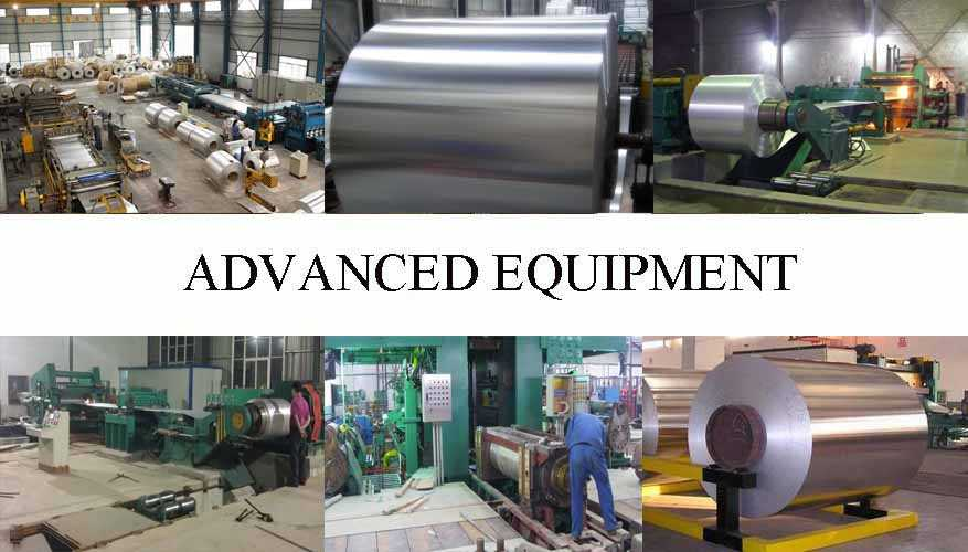 Advanced equipment of Aluminum Coils the factory price in China