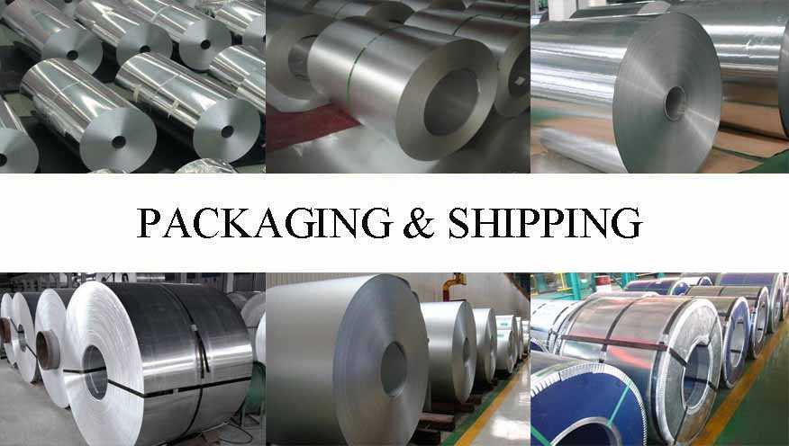 Packaging and shipping of Aluminum Coils the factory price in China