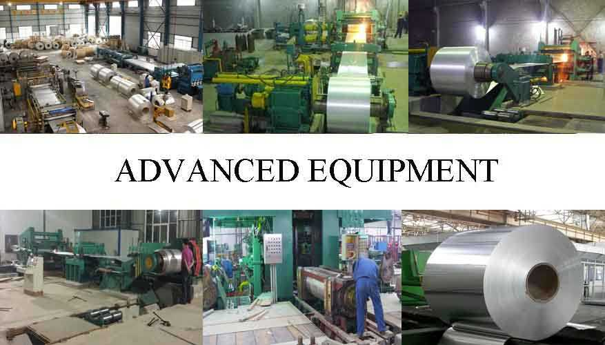 Advanced equipment of Aluminum Coils professional supplier in China