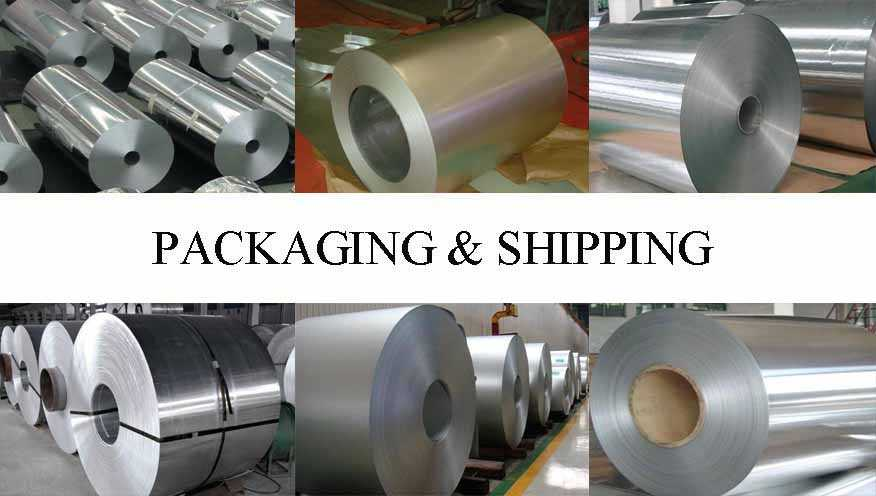 Packaging and shipping of Aluminum Coils professional supplier in China
