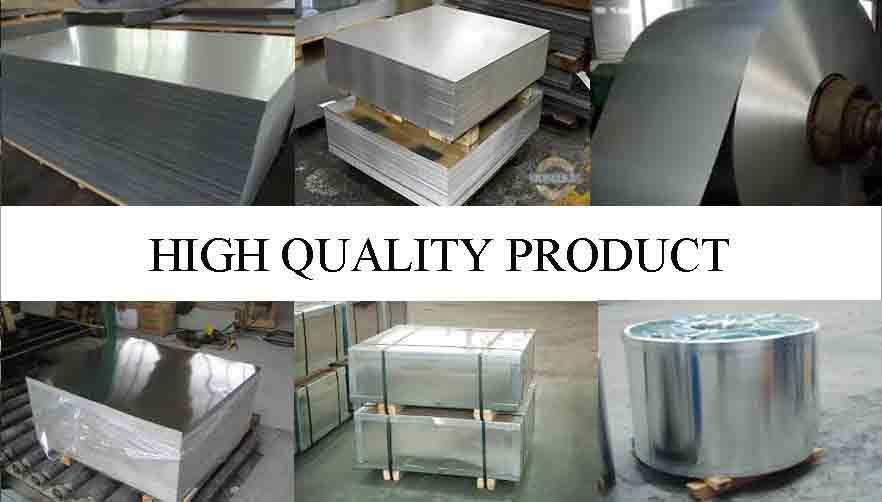 HIGH QUATILY PRODUCT OF TINPLATE SHEET