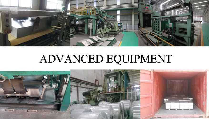 ADVANCE EQUIPMENT OF TINPLATE SHEET