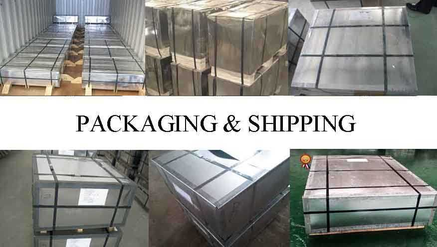 PACKAGING AND SHIPPING OF TINPLATE SHEET