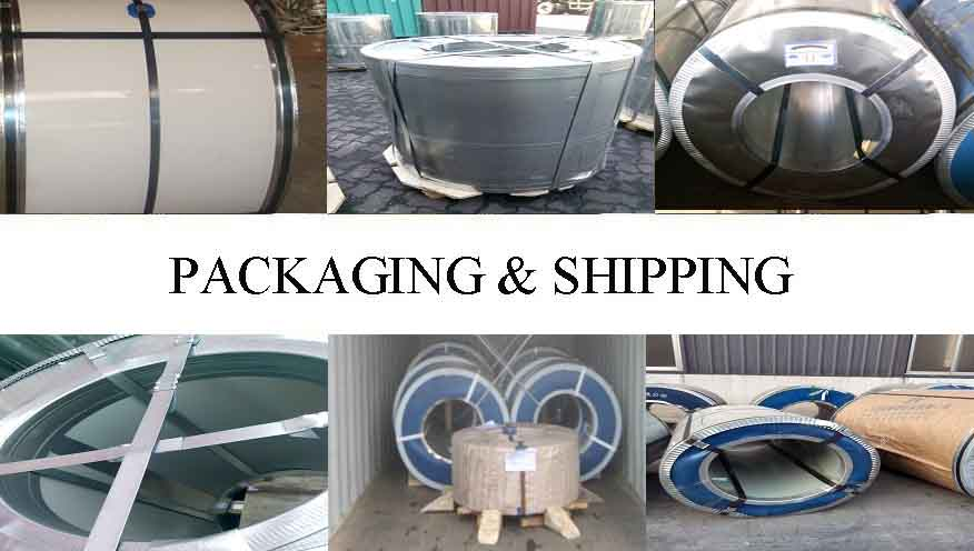 PACKAGING AND SHIPPING OF GI COIL