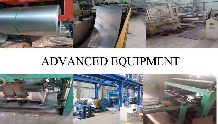 advanced equipment of High quality  cold rolled galvanized steel coil