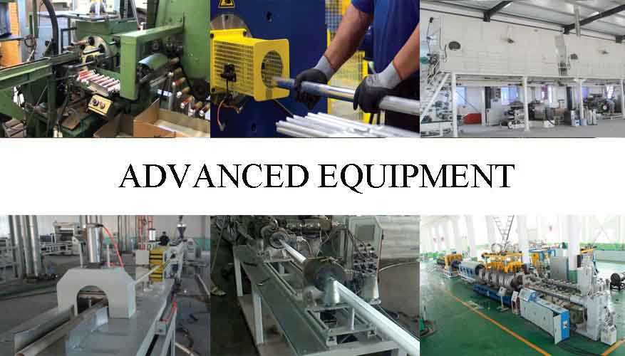 Advanced equipment of Aluminum Pipes made in China