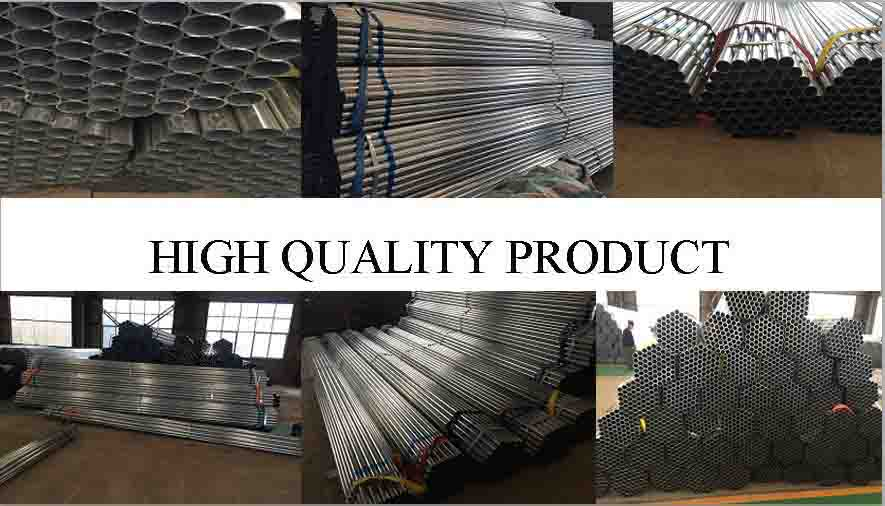 high quality products of high quality galvanized carbon steel pipe