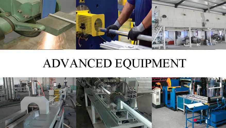 Advanced equipment of Aluminum pipe with the factory price in China