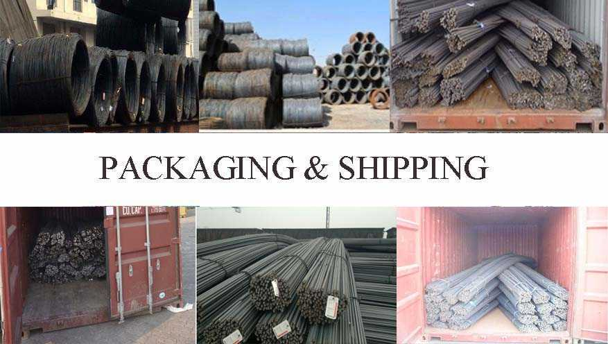 packaging and shipping of High quality deformed bar