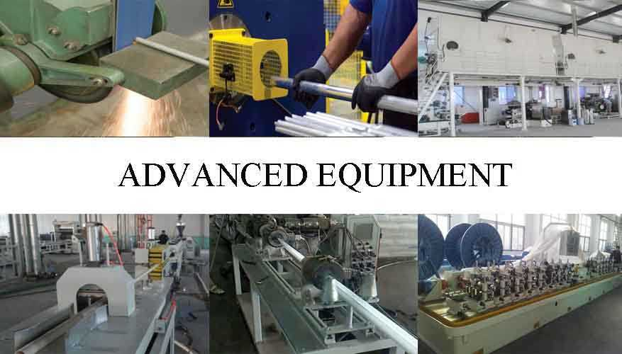 Advanced equipment of High Quality flexible aluminum pipe