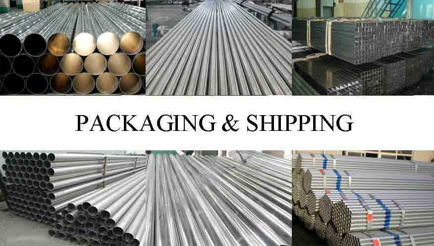Packaging and shipping of High Quality flexible aluminum pipe