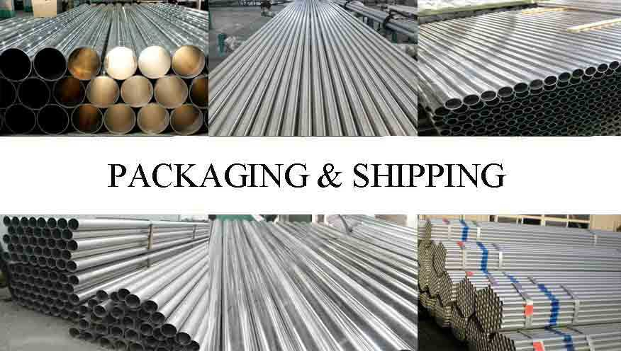 Packaging and shipping of Decorative aluminum pipe Made in Chinese factory