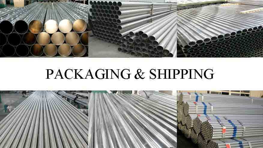 Packaging and shipping of Aluminum pipe fitting wholesale