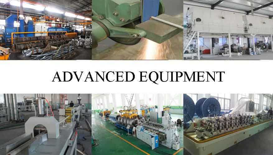 Advanced equipment of Aluminum pipe supplier in China