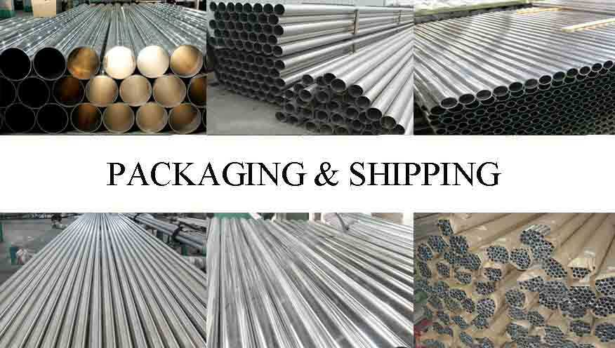 Packaging and shipping of Aluminum pipe supplier in China