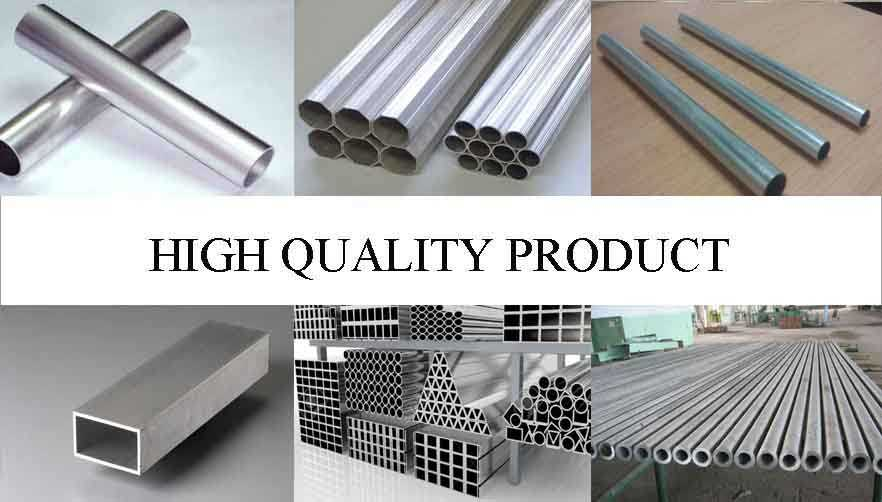 High quality product of Hot sale aluminum pipe 7075 with the factory price