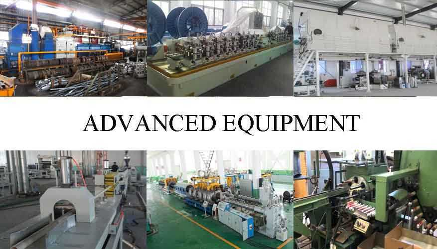 Advanced equipment of Hot sale aluminum pipe 7075 with the factory price