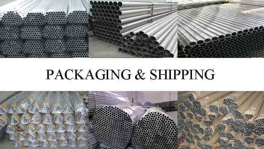 Packaging and shipping of Aluminum alloy pipe