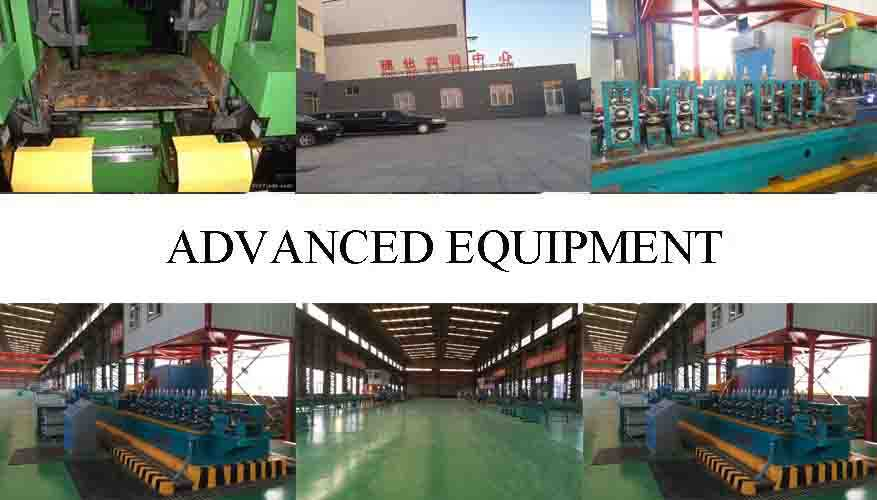 advanced equipment of Steel Channel Supplier