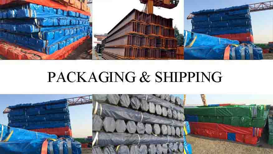 packing&shipping of Q235B Q345B S355JR Steel Channel Supplier
