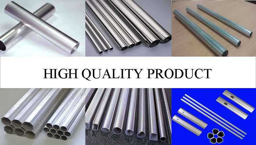 High quality product of China factory 100mm aluminum pipe