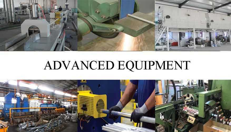 Advanced equipment of Aluminum pipe rack For Building