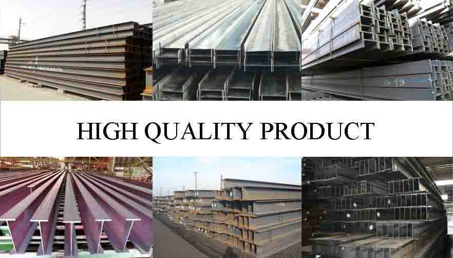 high quality product of Steel Channel Manufacture Ss400 standard H beam and I Beam Factory From China