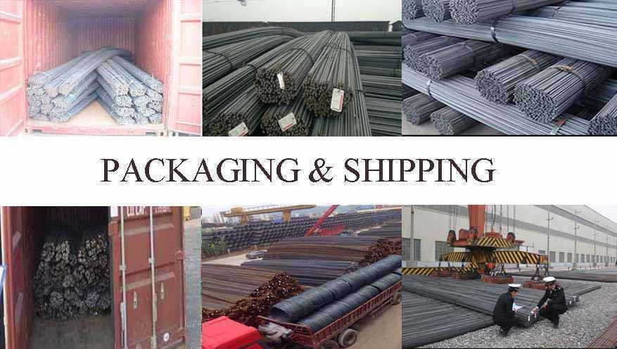 packaging and shipping of High quality Rebar supplier in Senegal