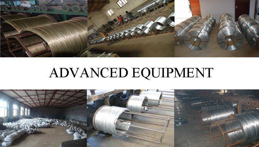 Equipment of galvanized steel wire factory price made in China