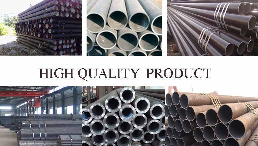 high quality products of Q235B Hot rolled steel pipe