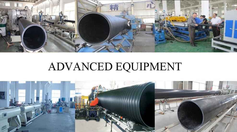 Advanced equipment of HDPE PIPE FITTINGS