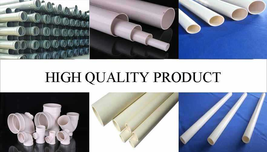 High quality product of large diameter pvc pipe with the best price