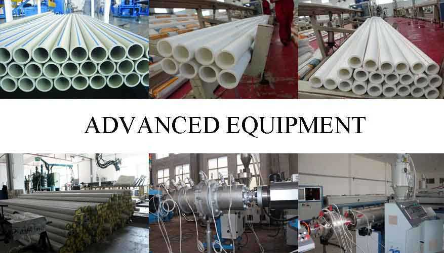 Advanced equipment of High quality PPR pipe fitting made in china