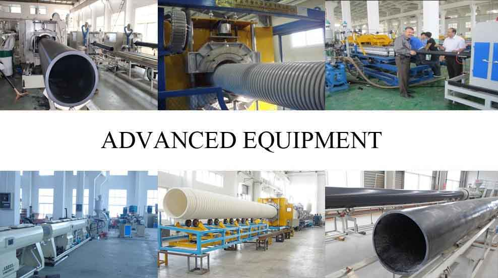 Advanced equipment of Hdpe pipe wholesale