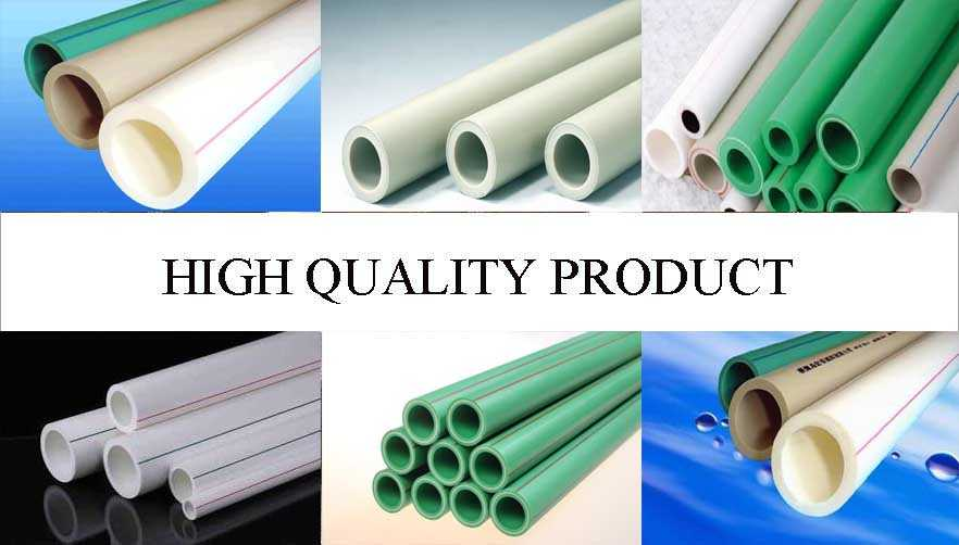 High quality product of Original Chinese Plastic ppr pipe
