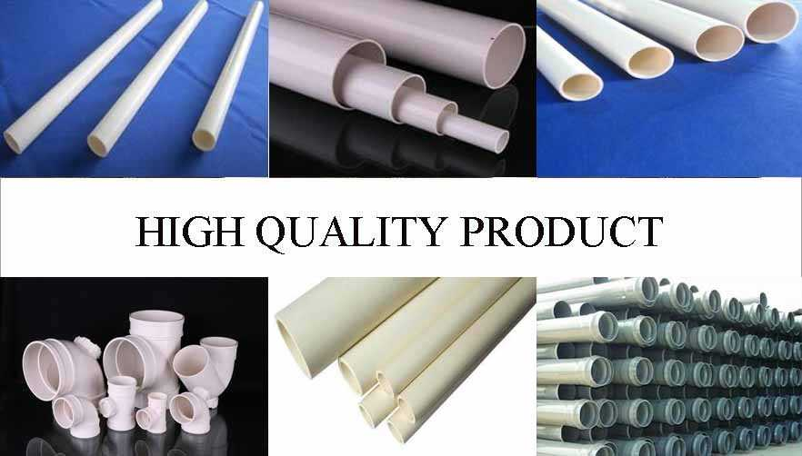 High quality product of Pvc pipe manufacturers in china