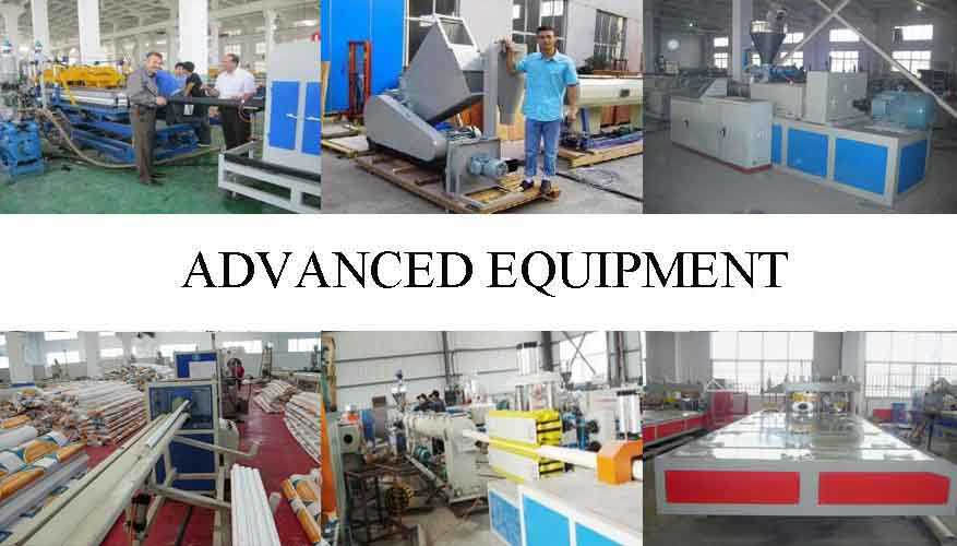 Advanced equipment of Pvc pipe manufacturers in china