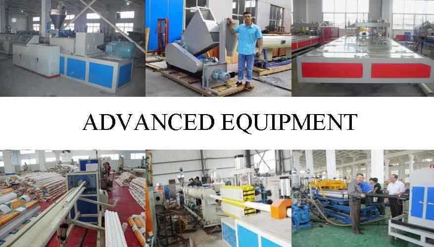 Advanced equipment of PVC Pipe in china for supply