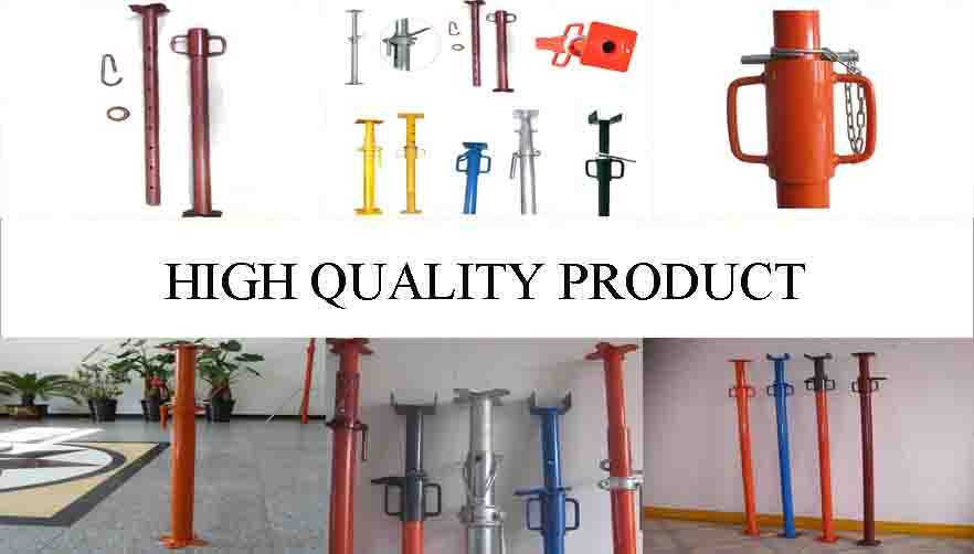 High quality product of scaffolding steel prop made in china.