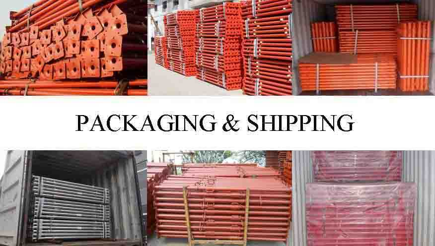 Packaging and shipping of Scaffolding Prop Supplier in Kenya