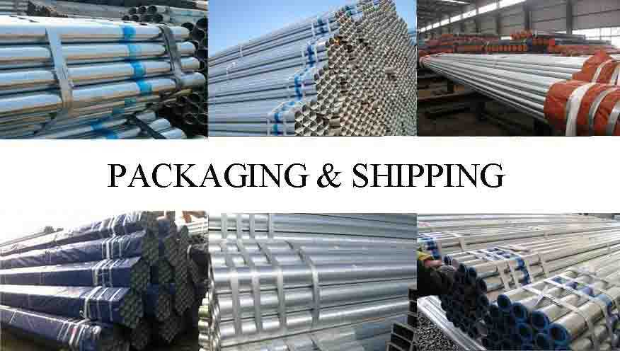 PACKAGING AND SHIPPING OF Original Chinese scaffolding tube