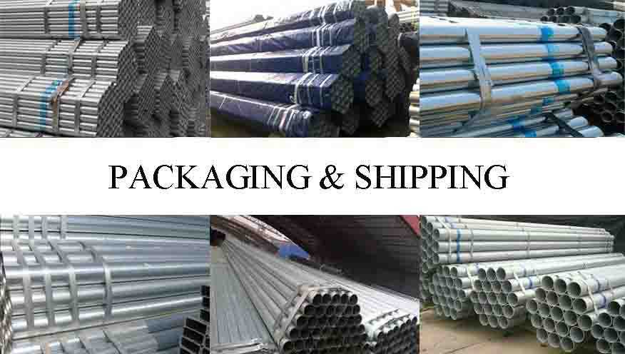 PACKAGING AND SHIPPING OF High quality scaffolding pipe in china