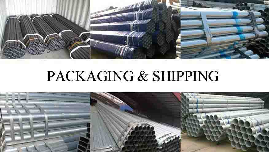 PACKAGING AND SHIPPING OF China supply scaffolding steel pipe